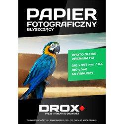 Papier fotograficzny błyszczący A4 180g/m2 50 arkuszy