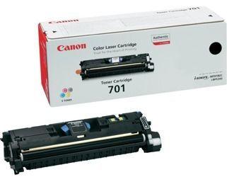 Toner oryginalny Canon 701BK