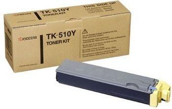 Toner oryginalny Kyocera TK-510Y