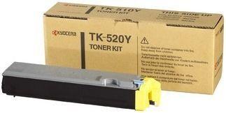 Toner oryginalny Kyocera TK-520Y