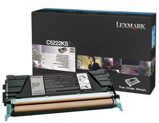 Toner oryginalny Lexmark C5222KS