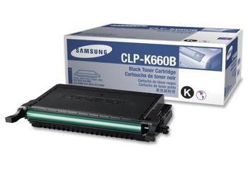 Toner oryginalny Samsung CLP-K660B
