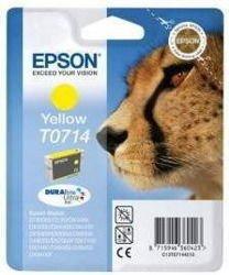 Tusz oryginalny Epson T0714 Y