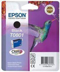 Tusz oryginalny Epson T0801 BK