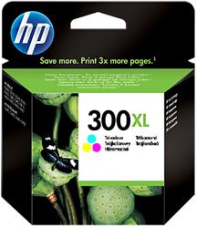 Tusz oryginalny HP 300XL CMY (CC644EE)