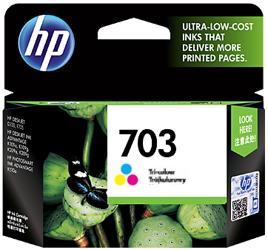 Tusz oryginalny HP 703 CMY (CD888AE)
