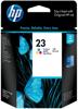 Tusz oryginalny HP 23 CMY (C1823D)